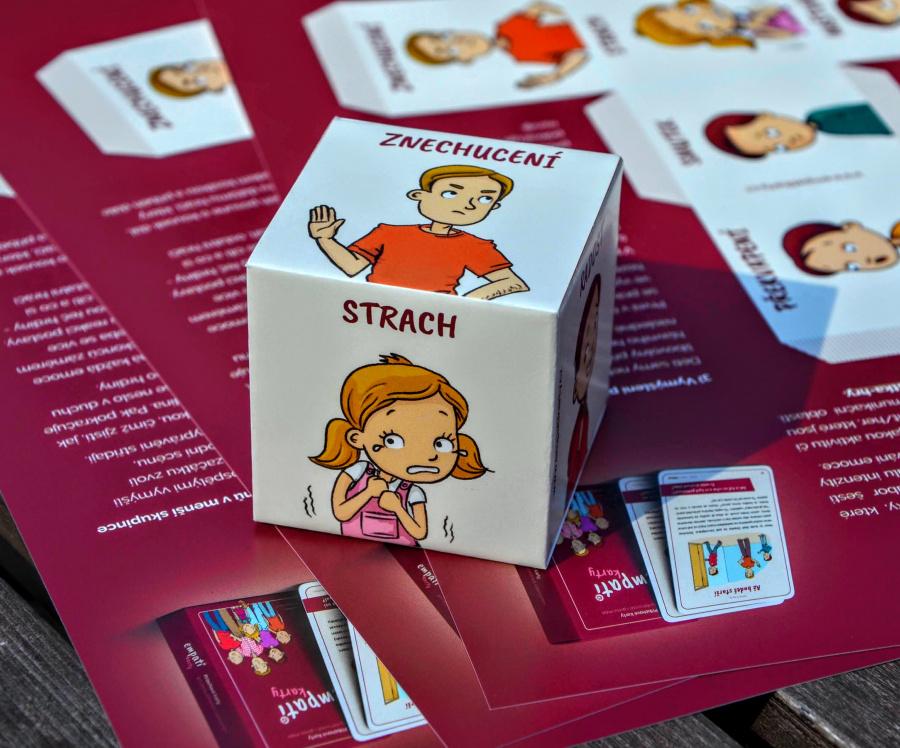 S dětmi o emocích - základní emoce obrázkové karty článek
